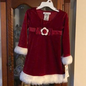 Toddler girl size 2T holiday dress